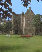 View of the mary Queen of Scots House